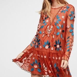 Free People Hearts Are Wild Dress size S NWT
